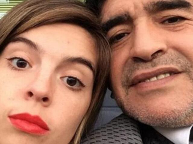 Diego Maradona: hija del astro rompió en llanto por homenaje de Boca Juniors