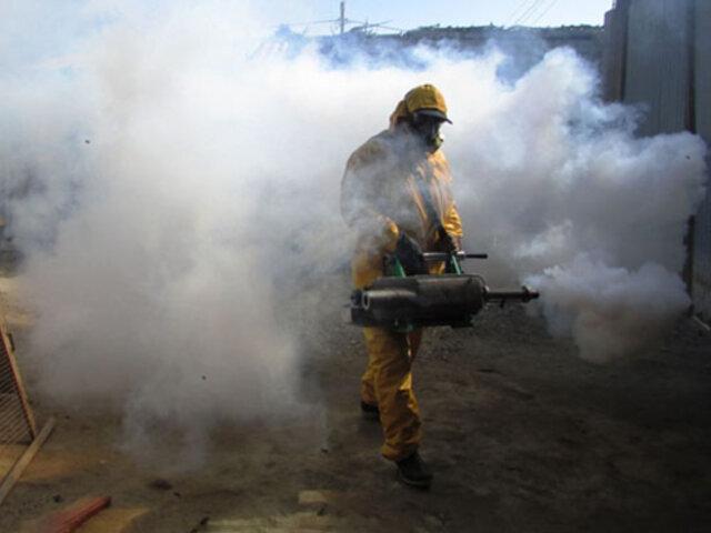 Piura: Diresa continúa fumigación de viviendas para evitar aumento de casos de dengue