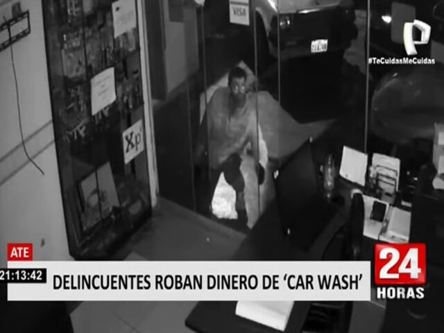 Salamanca: delincuentes roban cerca de 2 mil soles tras ingresar a 'car wash'
