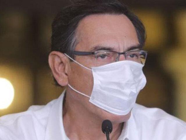 Expresidente Vizcarra cuestionó nombramiento de Comandante General de la PNP