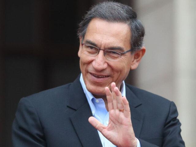 Militantes de Somos Perú apoyan candidatura al congreso de Martín Vizcarra