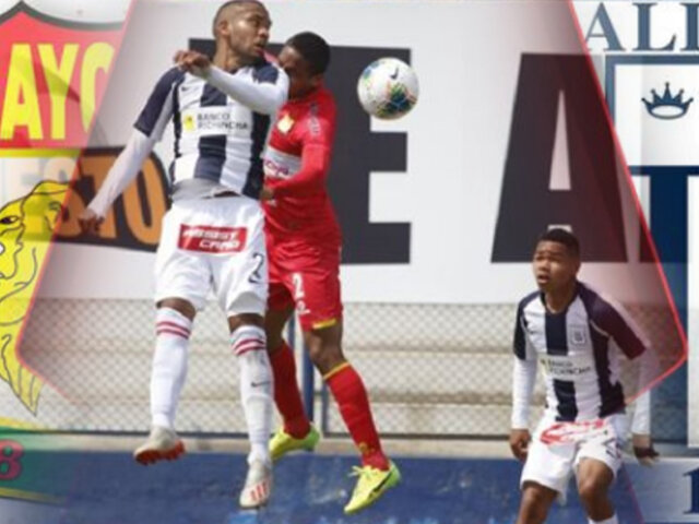 Alianza Lima cayó ante Sport Huancayo por 2-0 y descendió a la Liga 2