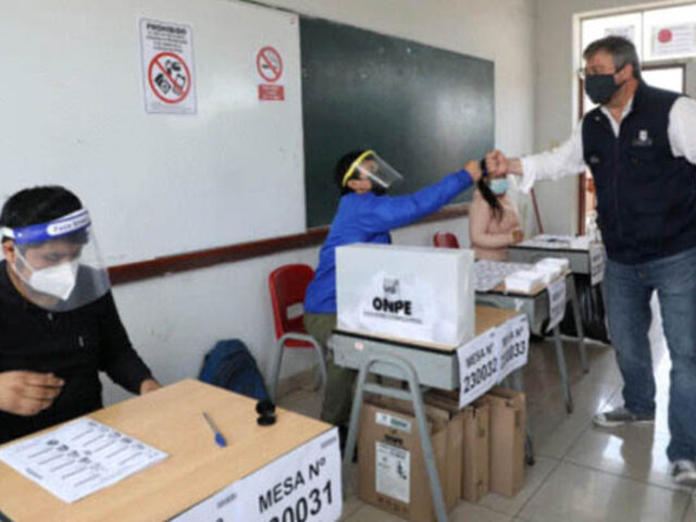 ONPE: hoy se conocerán candidatos electos durante comicios internos de partidos políticos