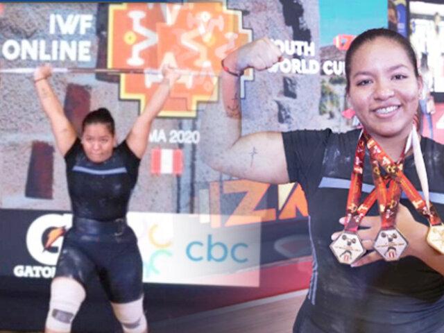 Perú conquistó 19 medallas en el Campeonato Panamericano de Pesas de Colombia