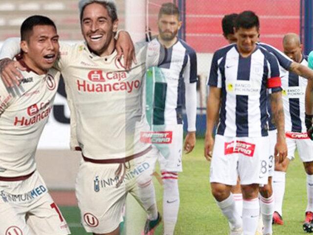 """La """"U"""" tras el descenso de Alianza Lima:  """"Somos el único grande"""""""