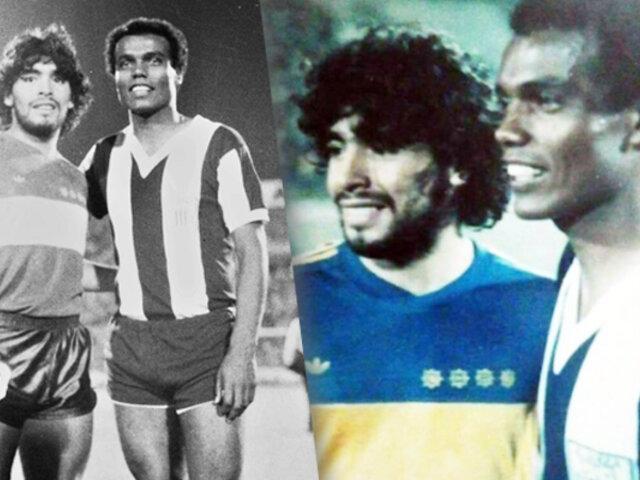 El día que Maradona enfrentó a Alianza Lima