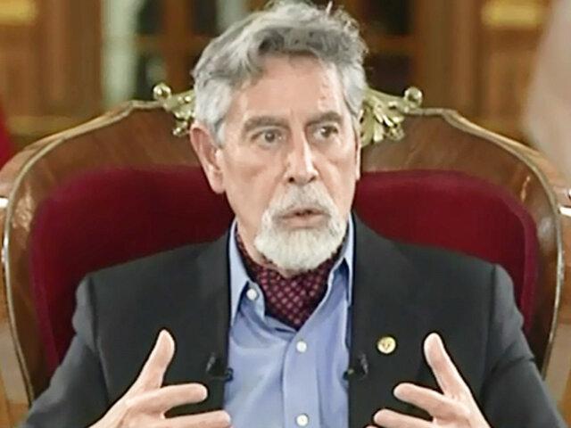 """Francisco Sagasti sobre retiro de 18 generales: """"La decisión fue absolutamente constitucional"""""""