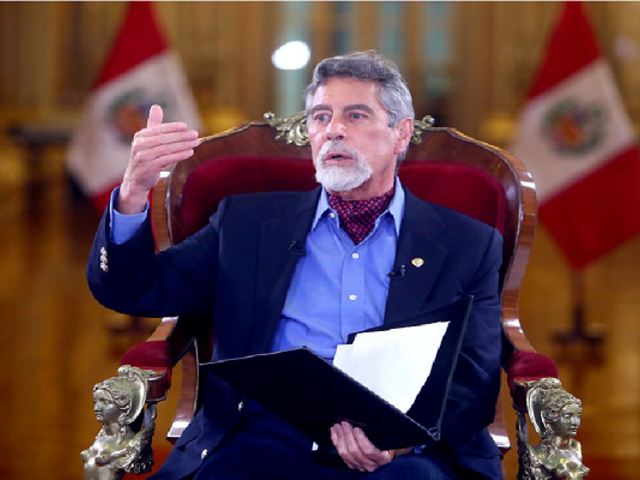 """Presidente Sagasti descartó renuncia del ministro del Interior: """"No estamos para entradas y salidas"""""""