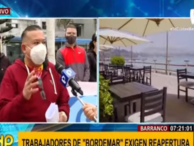 Barranco: trabajadores de 'Bordemar' exigen solución para poder reactivar operaciones