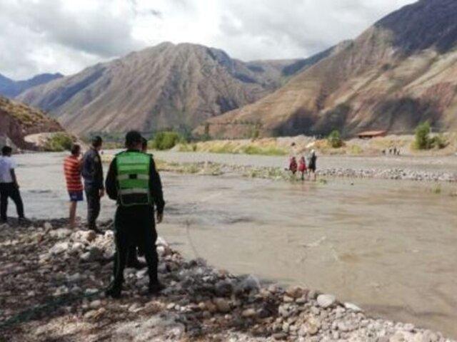 Cusco: rescatan a niños pastores atrapados en islote de río