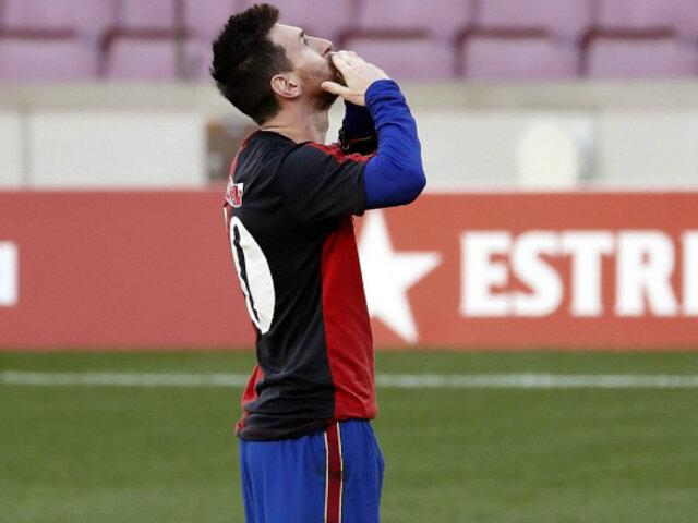 "Lionel Messi sobre muerte de Maradona: ""Fue algo terrible"""