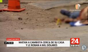 Chaclacayo: matan a cambista cerca de su casa y le roban 4 mil dólares