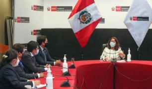 Presidenta del Gabinete Ministerial se reunió con congresistas de Alianza para el Progreso