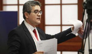Fiscal Domingo Pérez sustentó pedido de suspensión del partido Fuerza Popular