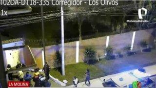 La Molina: Cámaras con sensores permitieron frustrar robo a residencias