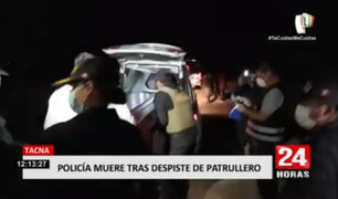 Tacna: un policía fallece y otro resultó herido en accidente de tránsito