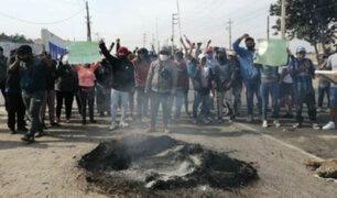 Protestas en Ica: mesa de diálogo del Ejecutivo y trabajadores agrarios se interrumpió sin acuerdo