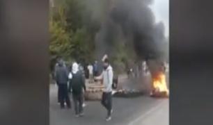 Ica: disturbios durante el segundo día de paro de trabajadores de agroexportadoras