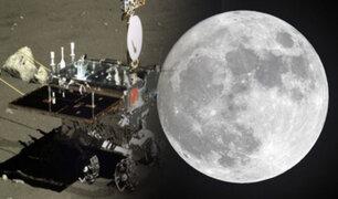 Sonda china Chang'e 5 llegó con éxito a la Luna