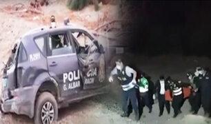 PNP continúa con investigaciones por muerte de agente en accidente en Tacna