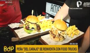 El regreso de los Food trucks: 'Peña del Carajo' se reinventa con Patio Catalino