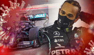 Fórmula 1: Lewis Hamilton dio positivo a COVID-19