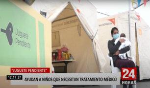"""""""Juguete Pendiente"""" y su labor de ayudar a familias desamparadas"""