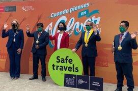 Mincetur entregó Sello Safe Travels a Miraflores