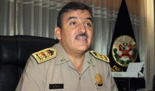 Cluber Aliaga renunció al cargo de ministro del Interior