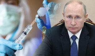 """Putin: """"Primeros en recibir la vacuna serán médicos y profesores de primaria"""""""