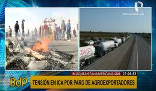 Crisis agraria: así se encuentra la Panamericana Sur desde su bloqueo por las protestas