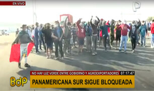 Sin acuerdo: Panamericana Sur sigue bloqueada en el cuarto día de protesta agraria