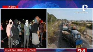 Ica: Así fue el cuarto día de protestas de trabajadores agrarios