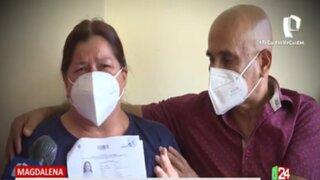 Entre lágrimas, pareja de esposos piden a inquilina que les devuelva inmueble ubicado en Magdalena