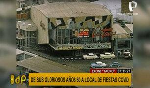Ex cine Tauro: de la gloria de los 60 a la decadencia por la prostitución y las fiestas ilegales