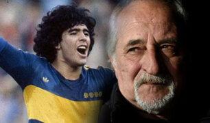 Maradona habría iniciado su consumo de drogas en Boca Juniors