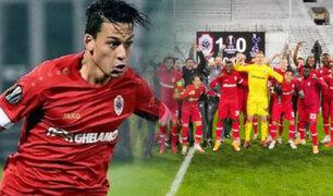 Cristian Benavente: Antwerp venció 3-1 a Ludogorets en la Europa League