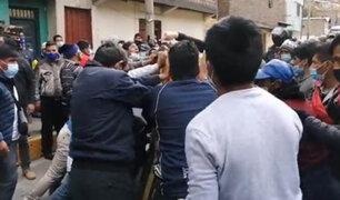 Carretera Central: pasajeros se enfrentaron a manifestantes que tienen bloqueada la vía
