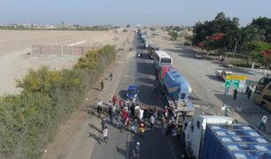 Ica: manifestantes permiten pase de ambulancias y cisternas con oxígeno para hospitales