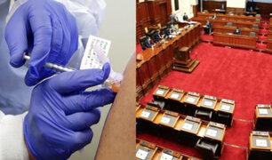 """Vacuna contra covid-19: aprueban ley que autoriza acceso """"libre y voluntario"""" al tratamiento"""