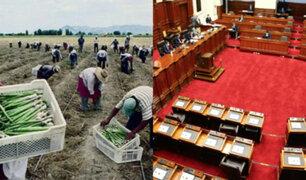 Ley agraria del Congreso: pago diario llegaría a S/.58 incluyendo CTS y gratificación