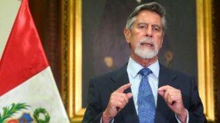 Presidente Francisco Sagasti espera dejar un país enrumbado