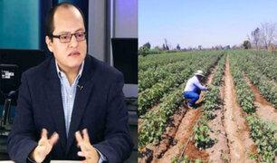 Víctor Quijada: Agricultores merecen una ley acorde a los tiempos con mejores derechos