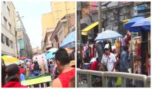 Mesa Redonda y Gamarra: caos y mafias se desbordan en pleno mes de navidad