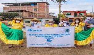 Tumbes: EsSalud ofrece talleres virtuales a población asegurada con discapacidad