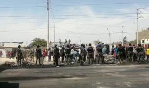 Ica: liberan la Panamericana Sur tras manifestaciones de trabajadores agroexportadores