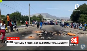 La Libertad: manifestantes piden la derogación del Congreso y advierten con bloquear las calles