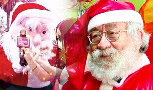 Papá Noeles recurseros en tiempos de pandemia