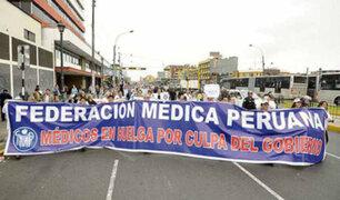 Federación Médica Peruana anuncia huelga nacional indefinida para enero