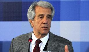 Uruguay: a los 80 años falleció el expresidente Tabaré Vázquez Rosas